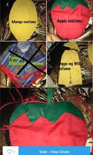School event costume bundle