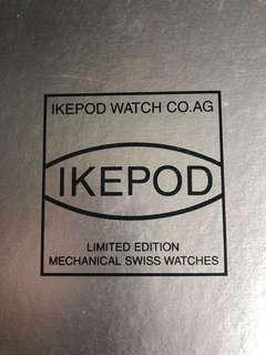 Ikepod Hemipode COSC certify and GMT Limited Edition