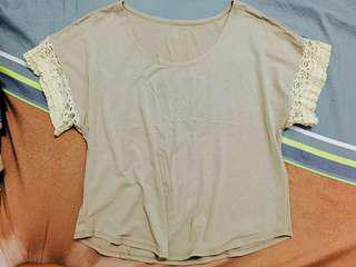 Cropped Top with Lace