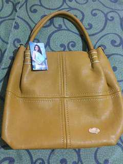 Secosana Mustard Shoulder Bag