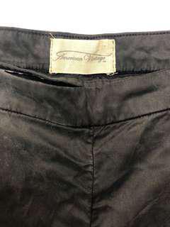 American vintage black/grey trousers