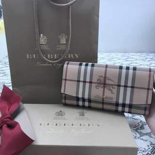 Burberry Check Colours Halton Wallet