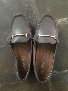 Fladeo brown shoes