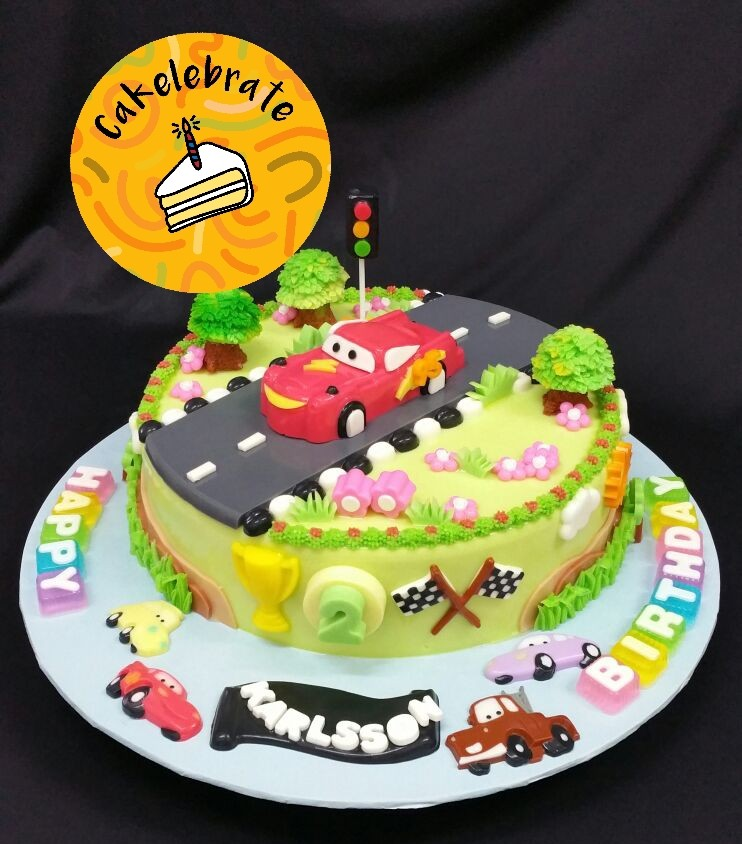 11 Cars Design Theme Jelly Birthday Cake Food Drinks Baked