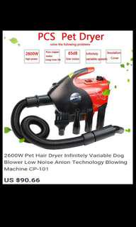 Pet Fur Dryer Dog/Cat blower blowing machine