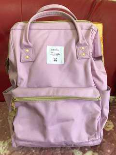 anello 粉紫色後背包(大)