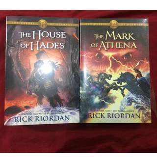House of Hades + Mark of Athena