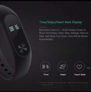 Xiaomi Fitness Band 2