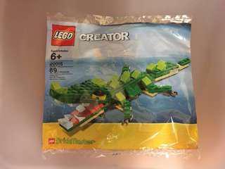 Lego Creator 20015 Crocodile Polybag