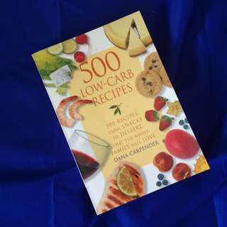 500 Low-Carb Recipes by Dana Carpinder