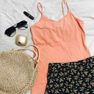 Forever 21 Cami Top & Cotton On Skirt