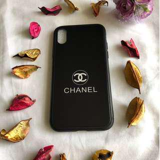 iPhone X Black Chanel Cover/Case