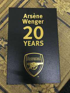 Arsene Wenger Pin Badge
