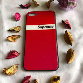 iPhone 8PLUS Red Supreme Cover/Case