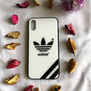 iPhone X White Adidas Cover/Case