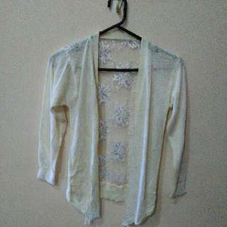 NEW Outer Lace Putih White Cardigan