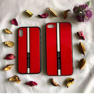 iPhone X & iPhone 8PLUS Red Supreme Cover/Case