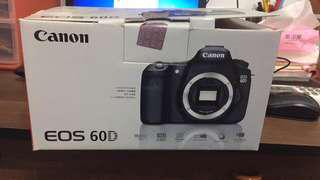 Camera BODY only Canon 60D