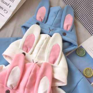 Super cute Rabbit Hooded