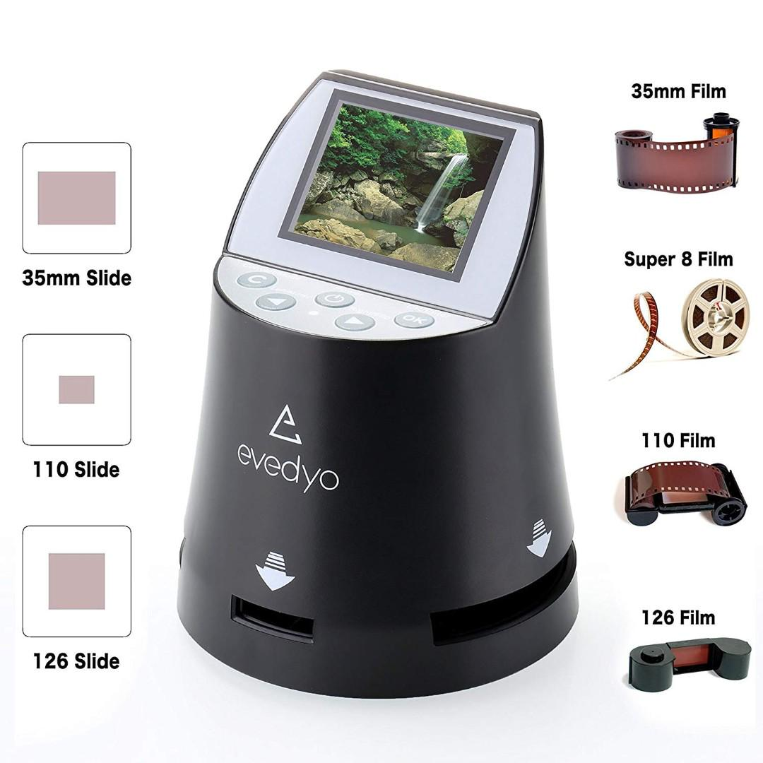 1259  Evedyo E10 PRO Film to Digital Converter (7-in-1