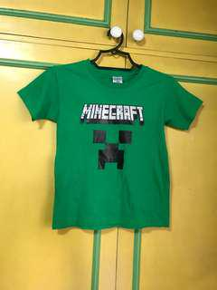 Minecraft creeper boys t-shirt