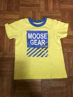 Moose gear shirt for boys