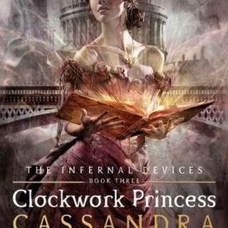Clockwork Princess (#3 of Infernal Devices trilogy)