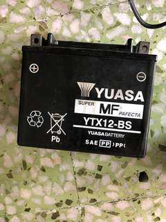 Free just take : ytx12bs battery