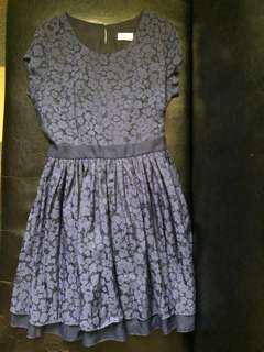 Navy Blue Sunday Dress