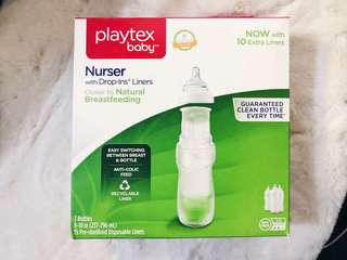 Playtex Baby Nurser Bottles with Drop-ins Liners