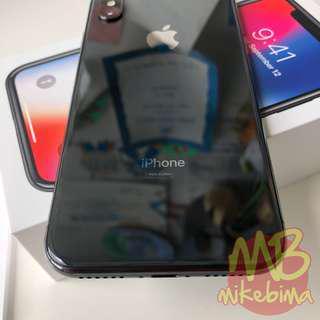 iPhone X 64GB Space Gray resmi iBox, harga nett ya