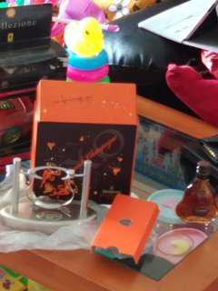 罕有,軒尼詩大香檳XO干邑酒辦連搖搖酒座,原装盒套装。