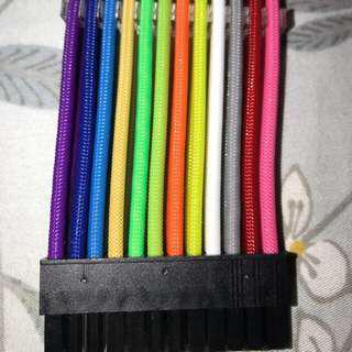 Psu sleeve cables