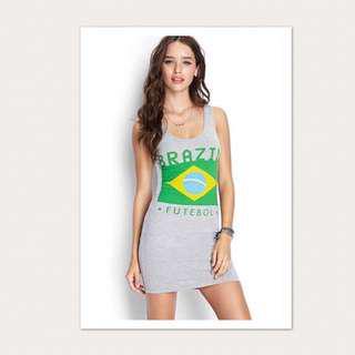 F21 Dress - FIFA World Cup (Brazil) ⚽️🇧🇷