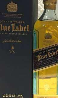 Johnnie Walker Blue Label 200ml with box.