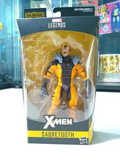 Marvel Legends Sabretooth w/o Apocalypse Baf part
