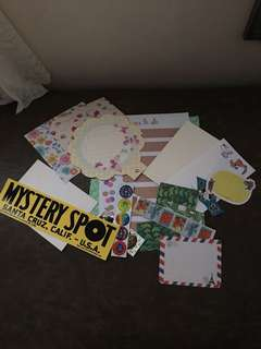 Asstd papers/stickers