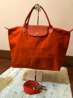 💯% original Long Champ Body Bag
