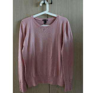 H&M long-sleeves Knit in dusty Pink