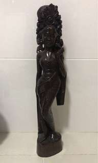 [TSSIMS] Vintage Balinese Wooden Statue