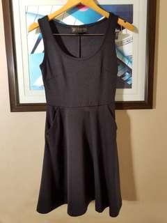 Black dress used once