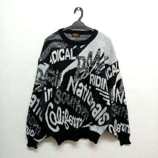 Vintage Safari Rookie Knit Sweatshirt