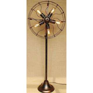 Vintage / Industrial Fan Design Lamp