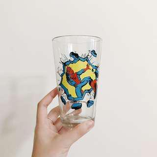 復仇者聯盟 美國帶回 漫畫 正版 蜘蛛人 英雄 啤酒杯 玻璃杯