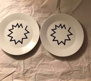 Ikea dishes 2隻