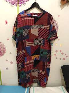New Hongkong Motif Dress
