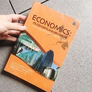 Economics: Its Concepts and Principles Textbook