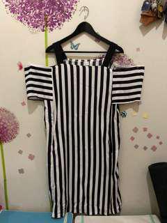 New Hongkong Stripe Dress