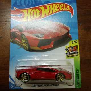 Hotwheels Lamborghini Miura