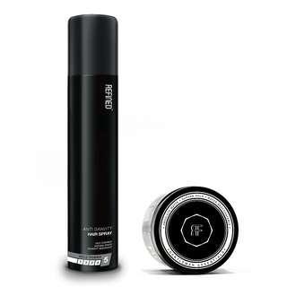 [NEW] Refined Anti-Gravity Hair Spray + Clay Bundle